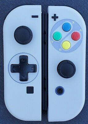 New Nintendo Switch Joy Con Controllers! SNES with or without D-Pad!