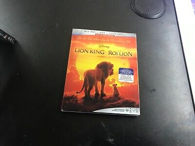 Disney The Lion King  ( Blu-Ray +Dvd + Digital  Code )Brand New Sealed