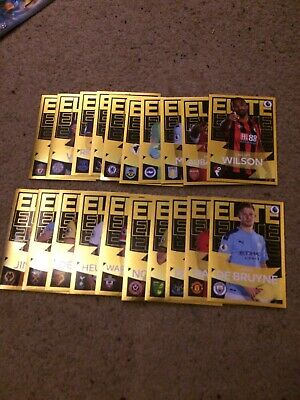 Panini Football 2020 Stickers Complete Set Of All 20 Elite Stickers Mint