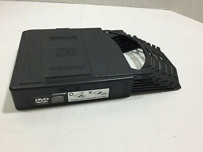 Genuine Range Rover Vogue 6 Disc DVD Holder ALPINE Magazine 2002-2012