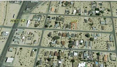 29 Palms California-City Lot- Lifetime Income-Water, Power -