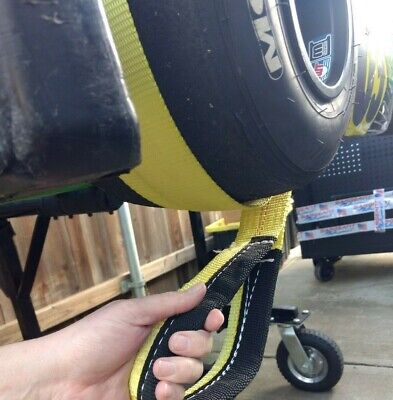 """Shifter Kart - Direct Drive Pull Strap to Start - Pull Rope - 2"""" Wide w/ Handle"""