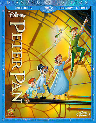 Peter Pan [Two-Disc Diamond Edition Blu-ray/DVD Combo in Blu-ray Packaging]