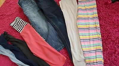 4 4-5 5-6 Years Girl Leggins Jeans trousers Tights summer winter Bundle Next gap