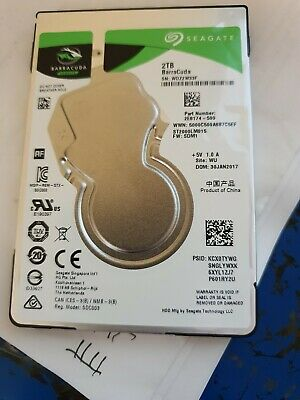 "Seagate BarraCuda 2 TB Internal 5400 RPM 2.5"" Hard Drive -ST2000LM015"
