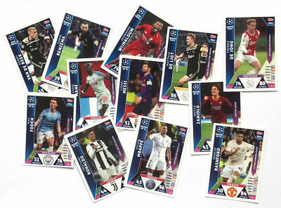 Match Attax On Demand Cards Champions League 18/19 2018/19 - Choose From All -