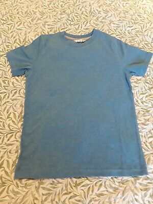 Boys John Lewis Short sleeved T Shirt Age 8-9 Years. Blue marl colour. Bnwot