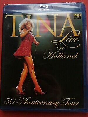 Tina Turner 50 Anniversary Tour Live in Holland  (NEW Blu-ray disc)