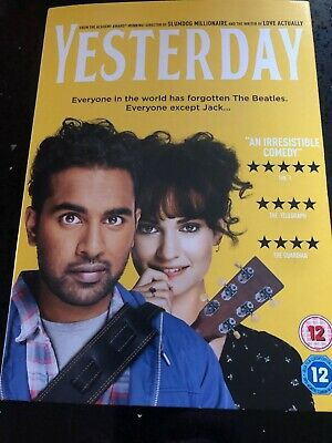Yesterday [DVD] only watched once.