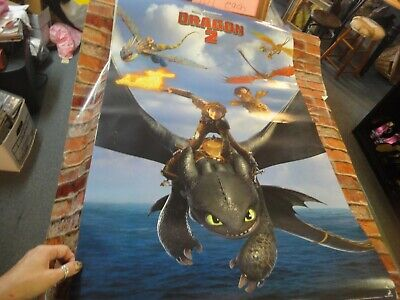 Dreamworks HOw to train your dragon 2 movie poster