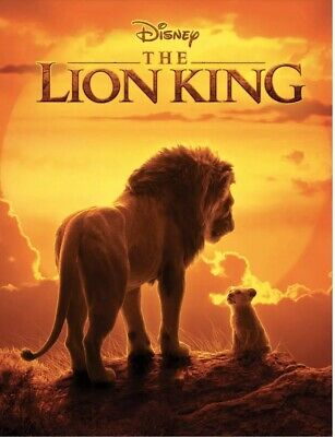 The Lion King (DVD Only , 2019) No Case