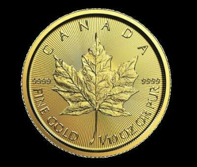 1/10 oz Gold Canadian Maple Leaf Coin .9999 - FREE SHIPPING !!!
