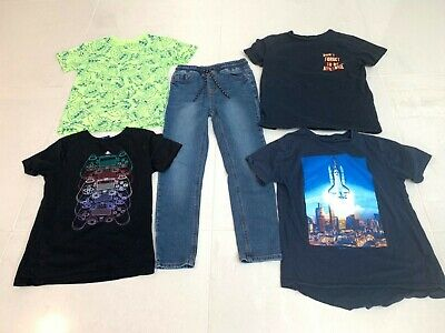 100% Next Boys Bundle Age 9 - T-Shirts Playstation And Jeans