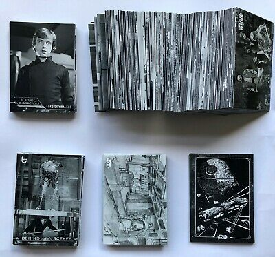 2020 Topps Star Wars RotJ - Black and White Complete Master Set - ALL 192 Cards