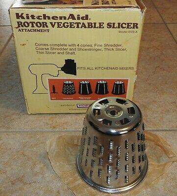 Hobart KitchenAid Rotor Slicer RVS-A #1 Fine Shred Blade Cone Replacement