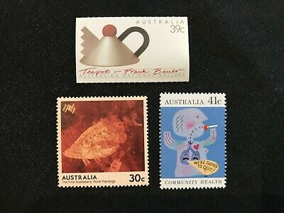 200 australia $1.10 (3 stamps) face value domestic POST stamps MINT