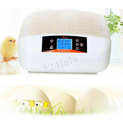 Automatic Digital 56 Egg Incubator Chicken Hatcher Temperature Control Turning