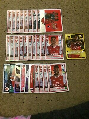 Panini Football 2020 Stickers Complete Set Of 31 Arsenal Inc Elite