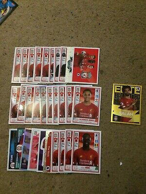 Panini Football 2020 Stickers Complete Set Of 31 Liverpool Inc Elite