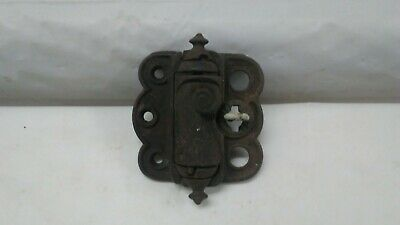 Antique cast iron Screen Door Hinge Victorian spring close loop release STOVER
