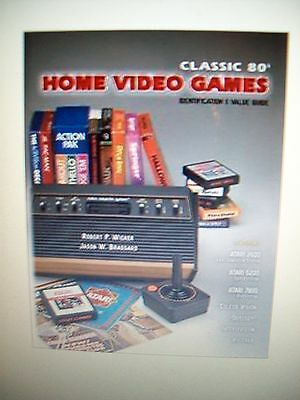 VIDEO GAMES PRICE GUIDE COLLECTORS BOOK Includes Atari, Mattel, Coleco and other