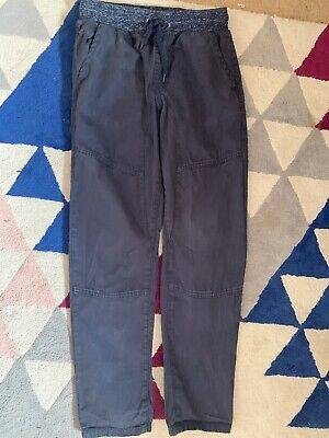 Blue Relaxed Trousers. Aged 11-12 George