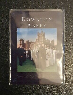 Downton Abbey S1 & S2 Metal limited numbered Promo Card #55/100