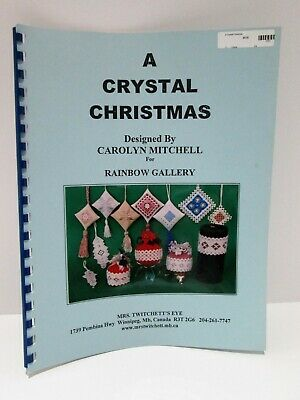Hardanger Embroidery 13 Ornament Charts A Crystal Christmas for Rainbow Gallery