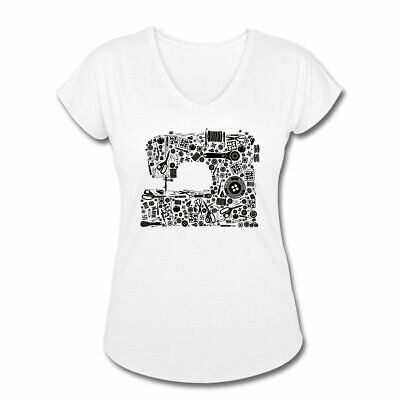 Happiness Sewing Machine T-shirt ~ Crafter Sewer Quilter Gift