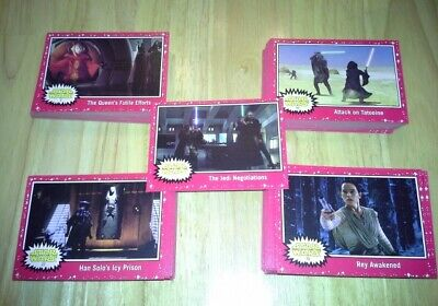 Star Wars Journey to The Rise of Skywalker Red Parallel (Target) 110 card set