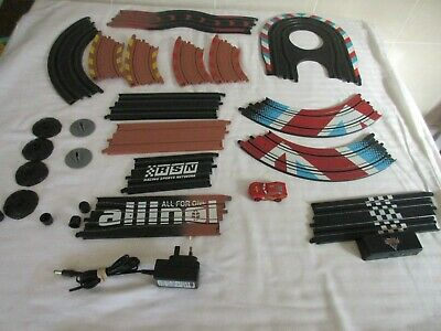 HORNBY Disney PIXAR cars 2 track  and bits.spares only x 14 trac,k 1 car, psu