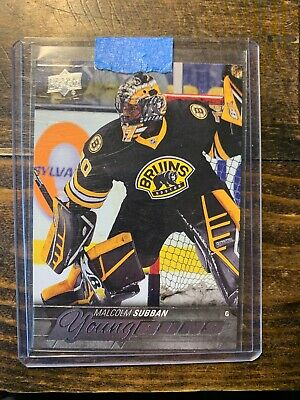 15-16 Upper Deck Young Guns Rookie #211 Malcolm Subban Rc Bruins