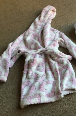 Lovely fluffy dressing gown age 4-5 years