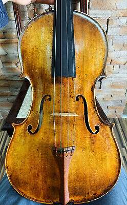 Amazing, ITALIAN old, antique 4/4 MASTER viola - READY TO PLAY!