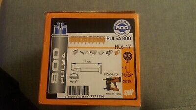 Spit pulsa 800 nails HC6-17mm