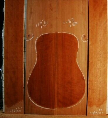old Kentucky cherry tonewood guitar luthier set back and sides