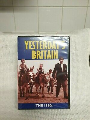 Yesterday's Britain - The 1940s, 1950s, 1960s (DVD, 2004) Brand New & Sealed