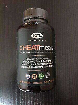 HFL CheatMeals-Helps block unwanted carbohydrates, sugar and fat calories