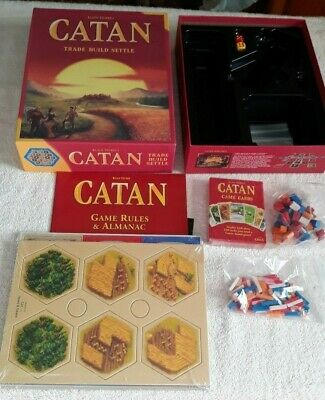 CATAN Strategy BoardGame 5thEd Contents Sealed Trade Build Settle Mayfair Games