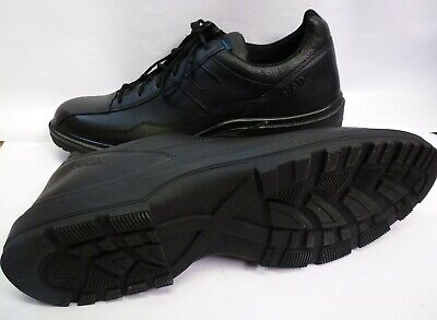 HAIX Airpower C7 US Black Leather Police service & leisure Shoes Size 14 w NEW