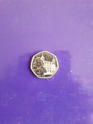 Paddington Bear at the Tower- Uncirculated 2019  Fifty Pence Coin 50p Piece