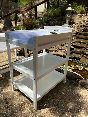 Baby Change Table (White) Excellent Used Condition
