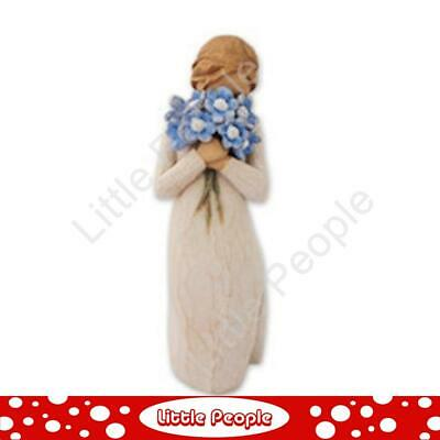 Willow Tree - Figurine Forget me not Collectable Gift