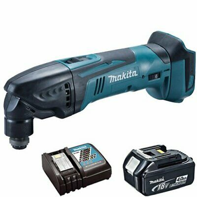 Makita DTM50Z LXT 18V Oscillating Multitool With 4Ah BL1840 Battery & DC18RC