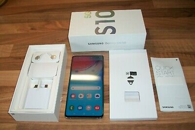 Samsung Galaxy S10 5G 256 GB Crown Silver EE Single SIM mobile phone smart mint