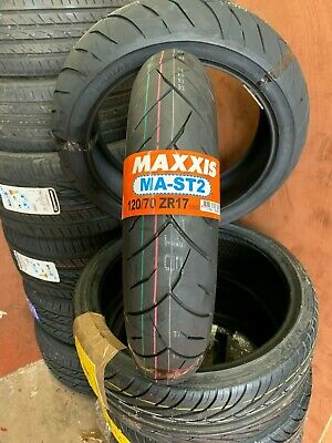 120/70-ZR17  Maxxis SUPERMAXX MA-ST2 MOTORCYCLE TOURING FRONT TYRE 120/70-17