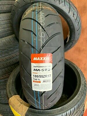 180/55-ZR17  Maxxis SUPERMAXX MA-ST2 MOTORCYCLE TOURING REAR TYRE 180/55-17