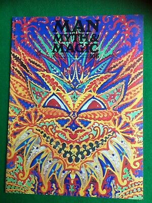 Man Myth and Magic magazine Occult Supernatural No.106
