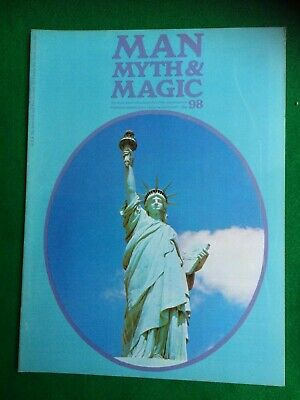 Man Myth and Magic magazine Occult Supernatural No.98
