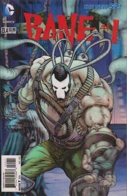 BATMAN ISSUE 23.4 - FIRST 1st PRINT 3D LENTICULAR BANE VARIANT COVER - DC NEW 52